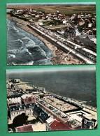 14 Calvados Luc Sur Mer Vue Aerienne Lot De 2 Cartes Postales  ( Format 10,5cm X 15cm ) - Luc Sur Mer