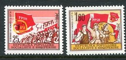 ALBANIA 1977 Trades Union Congress MNH / **.   Michel 1911-12 - Albania