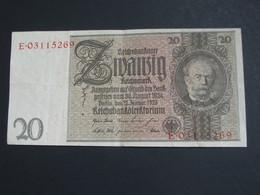 20 Zwanzig Reichmark - Berlin  1924 - Reichsbanknote - Germany **** EN ACHAT IMMEDIAT **** - [ 3] 1918-1933 : República De Weimar
