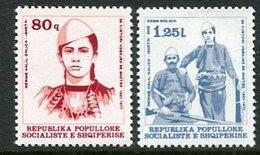 ALBANIA 1977 Galica Anniversary MNH / **.   Michel 1901-02 - Albania