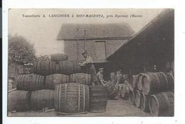 Dizy Magenta,assez Rare ,tonnellerie A.Langinier,pres épernay Marne - Autres Communes