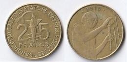 Etats De L'Afrique De L'Ouest Côte D'Ivoire 25 Francs CFA XOF 2018 - Costa D'Avorio