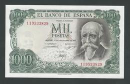 SPAIN 1000 PESETAS 1971 GEM UNC - [ 3] 1936-1975: Regime Van Franco