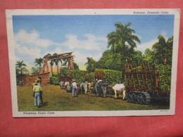Weighing Sugar Cane  Habana  Cuba Ref 3792 - Cuba