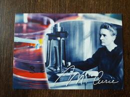 L22/1107 Marie Curie .Je Suis De Ceux Qui Pensent Que La Science A Une Grande Beauté - Premi Nobel