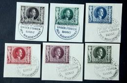 844 - 849  Briefstück E TOP - Allemagne