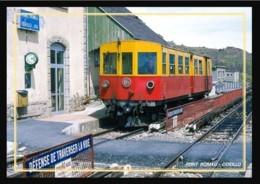 66  FONT  ROMEU .... La  Gare ... Les  Quais  + Train - Autres Communes