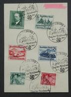 695 - 697 Auf Sonderkarte Sonderstempel - Germany
