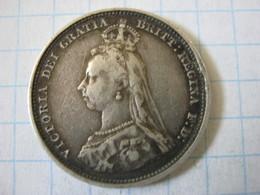 1 Shilling 1887 - 1816-1901: 19. Jh.