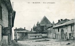 ST.JUVIN.  Rue Principale - Francia