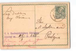 17755 TRIEST - WIEN --BAUBEZIRKDLEITUNG ADELSBERG - Postwaardestukken