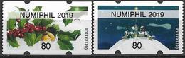 2019 Austria Österreich WAZ  Mi. 60-1 **MNH   Weihnachten  NUMIPHIL 2019 - 1945-.... 2nd Republic