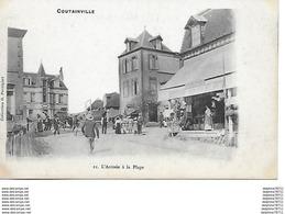 Coutainville -L'arrivée à La Plage - Francia