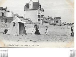 Coutainville -La Plage Et Les Villas - Francia