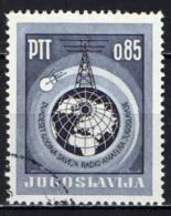 JUGOSLAVIA - 1966 - ORGANIZZAZIONE DEI RADIOAMATORI DELLA JUGOSLAVIA - 25° ANNIVERSARIO - USATO - Usados
