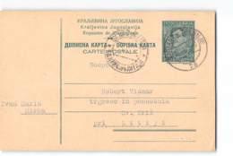 17759 ST. JANZ - TRERNJE TO SV. KRIZ LITIJI - Postal Stationery
