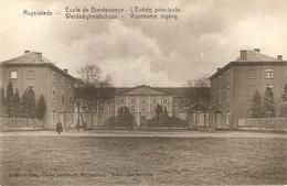 Ruysselede / Ruiselede : Weldadigheidschool ---- Voorname Ingang - Ruiselede