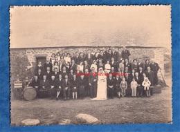 Photo Ancienne - BRETAGNE à Situer - Portrait De Mariage Homme Femme - Accordéon L. Le Bars Maugein & Clarinette Coiffe - Photos