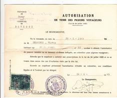 Colombophilie - Vecchi Documenti