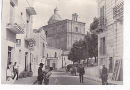 FERRANDINA - CORSO VITTORIO EMANUELE II F/GRANDE VIAGGIATA 1962 ANIMATA INSEGNA TABACCHI - Matera