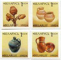 BIAŁORUŚ 1992 MI.17-20** MICHEL. 1.2 EUR - Wit-Rusland