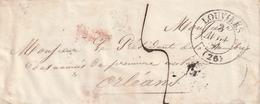 Frankreich / 1831 / Vorphila-Briefhuelle K2 LOUVIERS (3314) - Poststempel (Briefe)