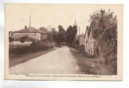 32 - PERGAIN-TAILLAC ( Gers ) - Avenue Des Promenades. Quartier De Bouzigue - Francia