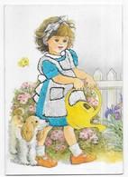 CPM Brodée Les Editions Vacances 22190 Plérin - Bestickt