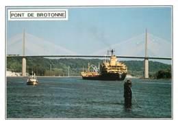 76 - Pont De Brotonne - Bateaux - Carte Neuve - Voir Scans Recto-Verso - Frankreich