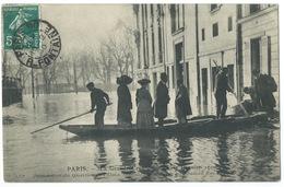 CPA / PARIS INONDATIONS 1910 / INONDATIONS DU QUARTIER DE L'ALMA - La Crecida Del Sena De 1910