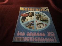 CLAUDE FRANCOIS  / BOWIE  / POLNAREF  °  TELERAMA    JUILLET 1991 / LES ANNES 70 REVIENNENT - Television