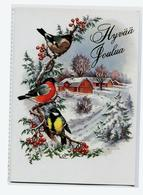 Finlande Suède Joyeux Nouvel An Oiseaux De Noël Marque Lars Karlsson Lars Carlsson - Sweden