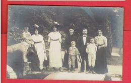 BEDARIEUX LA MALOU PHOTOGRAPHIE DE FAMILLE PHOTOGRAPHE DELESTAING CARTE PHOTO EN TRES BON ETAT - Bedarieux