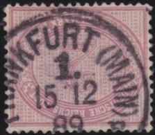 Deutsches Reich    .    Michel   .    37       .      O      .       Gebraucht  .   /   .  Cancelled - Germany