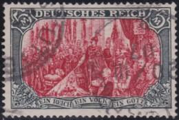 Deutsches Reich    .    Michel   .   81 A       .      O      .       Gebraucht  .   /   .  Cancelled - Gebraucht