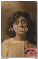 CPA Fantaisie Femme Theatre Julia Marlowe - Donne