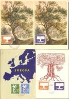 SAAR  Europa CEPT Set 4 FDCs  MNH - Unclassified