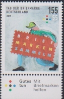GERMANY, 2019, MNH, STAMP DAY,1v - Stamp's Day
