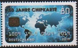 GERMANY, 2019, MNH,TECHNOLOGY, CHIPS, CHIP CARD,1v - Other