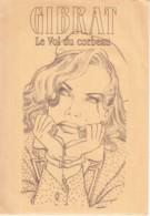 GIBRAT - LE VOL DU CORBEAU - Enveloppe Ex-libris 17 X 25 TBon Etat (voir Scan) - Illustrators G - I