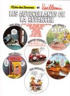 VUILLEMIN - La Revanche - L'Echo Des Savanes - Planche Auto-collants 23 X 30 TBon Etat (voir Scan) - Vuillemin, Ph.