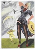 Arma Aeronautica - Umoristica - Aviazione. Illustratore Burattin. - Reggimenti
