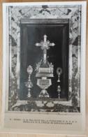 Prop. Ris Basilica S. Croce In Gerusalemme Rome Reliquien Tre Pezzi Della Santa Croce Il Titolo Uno Del Santi Chiodi - Sonstige