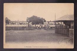 CPA Nouvelle Calédonie New Calédonia Océanie Nouméa La Gare Train Chemin De Fer Non Circulé - Neukaledonien