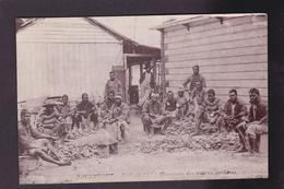 CPA Nouvelle Calédonie New Calédonia Océanie Métier Huitres Perlières Pouembout écrite - Neukaledonien