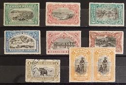 1915 - Volledige Reeks - Belgisch-Kongo