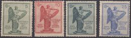 ITALIA - 1921 - Serie Completa Nuova: Yvert 113/116 MH/MNH. - 1900-44 Victor Emmanuel III.