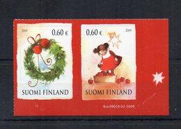 Finlandia - 2009 - Natale - 2 Valori - Nuovi ** - (FDC19034) - Finlande