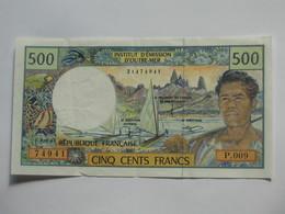 500 Cinq Cents  Francs 1992 - Institut D'émission D'outre Mer  **** EN ACHAT IMMEDIAT **** - Französisch-Pazifik Gebiete (1992-...)