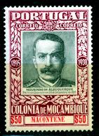 MOZAMBIQUE  1931 MACONTENE 50c  MH - Mozambique